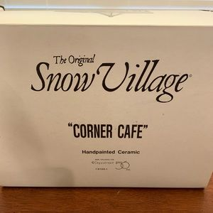 Snow Village Corner Cafe